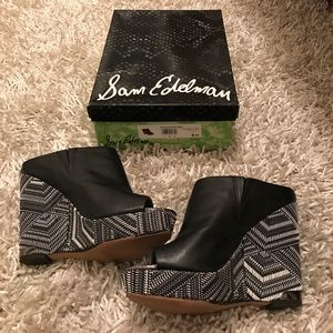 Sam Edelman Wedge Size 9